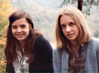 Martha and Jill as college freshman