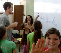English Summer Camp in Israel
